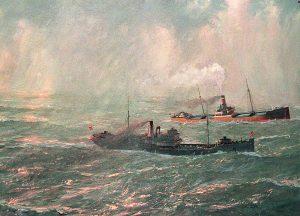 Cuadro Batalla Cabo Matxitxako