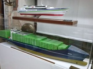 Portacontenedores Altagracia y ferry Monte Toledo