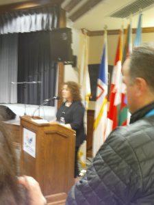 Discurso de la ministra de cultura de Terranova