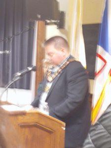 Discurso del alcalde de Plasentia