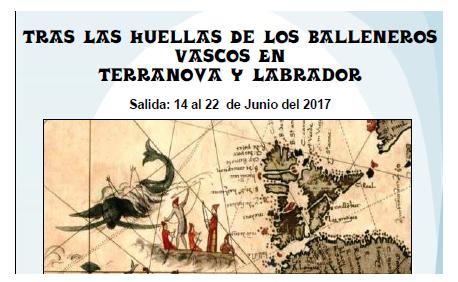 Expedición para descubrir el legado de los balleneros vascos