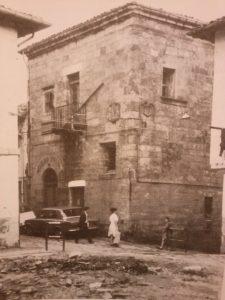 Edificio del museo en los años 60