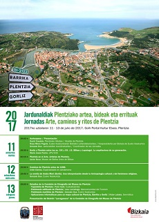 11, 12 y 13 de julio: X Jornadas de Historia Local de Plentzia