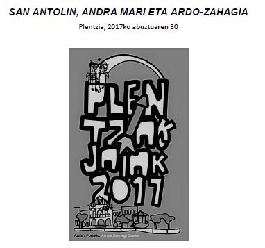 San Antolín eta Andramarirako igoera: zergatik ohitura hau?