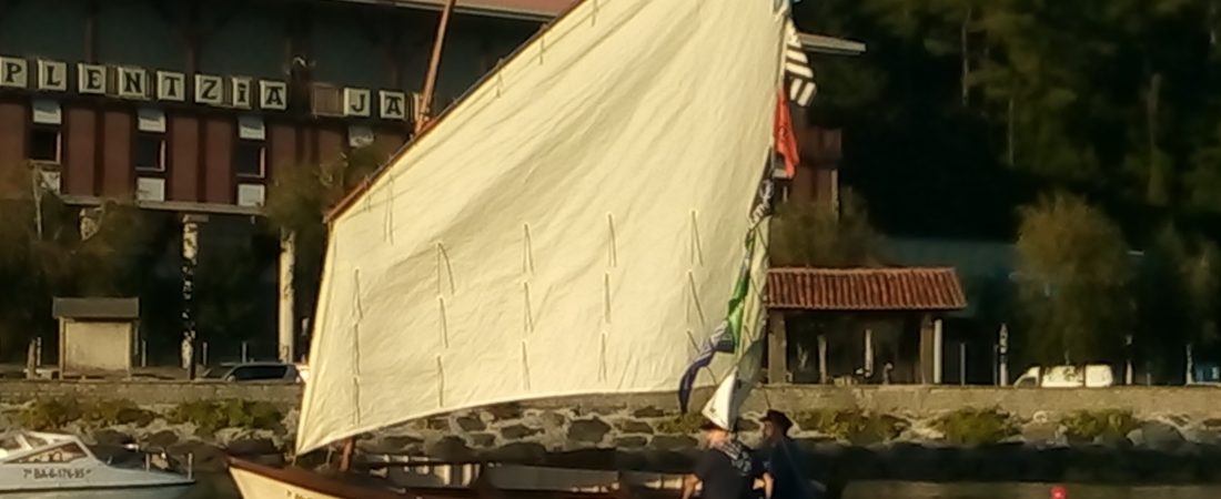"Launching of ""Elai"", restored classic sailing vessel"