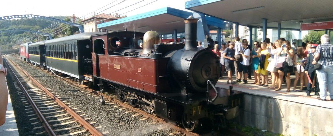 2018: celebramos el 125 aniversario de la llegada del tren a Plentzia