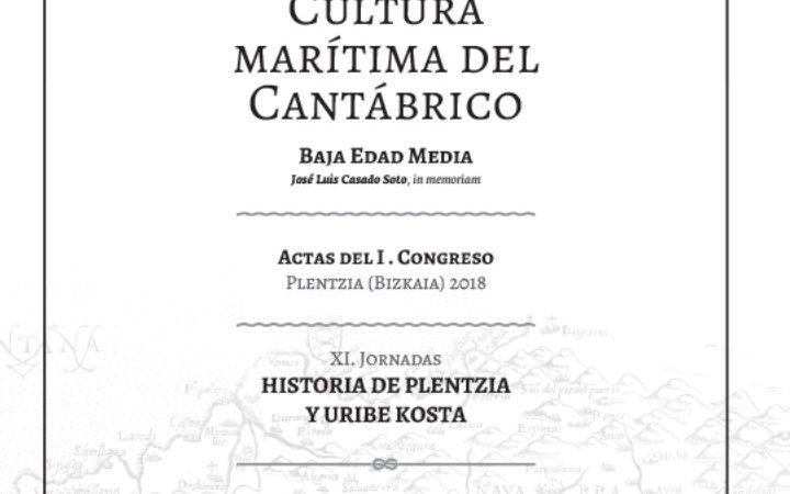 """1 de marzo: presentación libro actas """"I. Congreso Cultura Marítima del Cantábrico"""""""