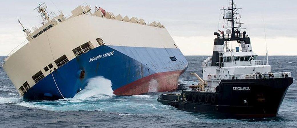 """""""Modern Express"""": Un rescate a la bilbaína. Charlas sobre naufragios (2 agosto)"""