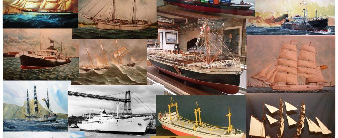 Exposición temporal 2020: navíos relacionados con Plentzia