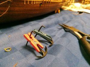 Restauración de las anclas