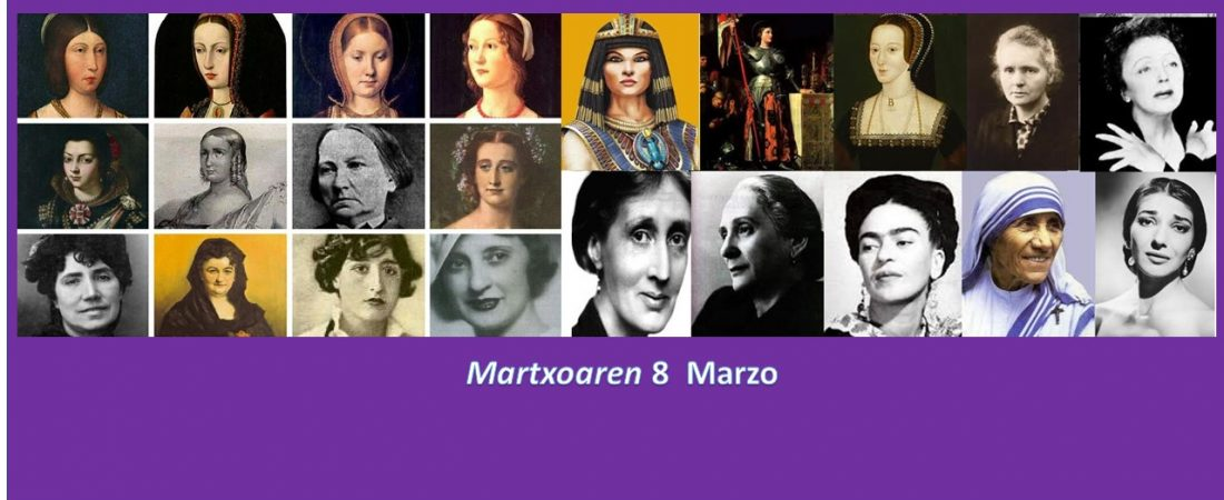Día Internacional de la Mujer / Emakumeen Nazioarteko Eguna