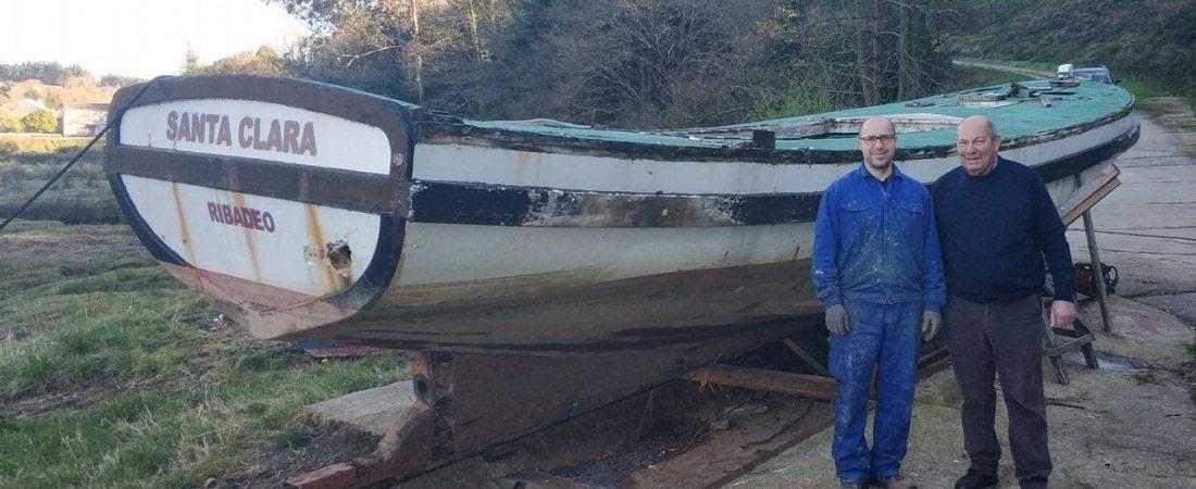 El último astillero de ribera de Asturias