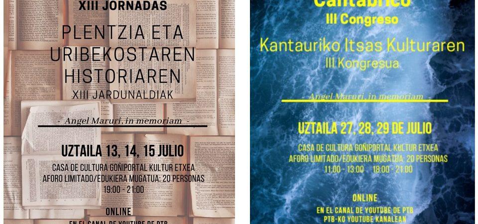 Conferencias en julio